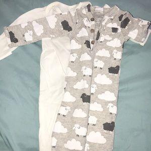 Carters newborn nightgowns